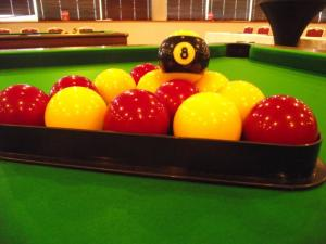 Club de billard anglais: